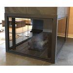 Thermo-Rite Heritage Corner Unit Custom Glass Fireplace Door - HERITAGE-CORNER