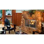 "Majestic Villa Gas 36"" Outdoor Gas Fireplace - ODVILLAG-36T"