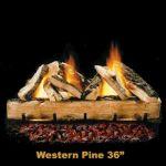 """Hargrove 42"""" Western Pine Log Set - WPS42"""