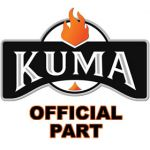 """Part for Kuma - 3/4"""" Flat Adhesive Backed Gasket - Price Per Foot - KR-GK-34"""