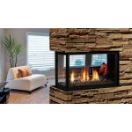 Kingsman Multi-Sided Clean View Peninsula Direct Vent Fireplace - Tempered - MCVP42