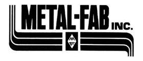 "Metal-Fab Corr/Guard 4"" D Horizontal Vent Kit - 4CGSWHVK"