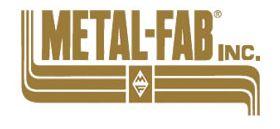 "Metal-Fab Corr/Guard 10"" Appliance Adapter (304SS) - 10FCSPKA2-C40"