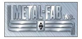 Metal-Fab B-Vent 3' Pipe Length Oval - 6MO3