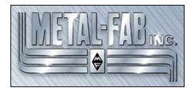 "Metal-Fab B-Vent 12"" Pipe Length Oval - 6MO12"