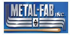 "Metal-Fab Corr/Guard 4"" Rinnai Horizontal Termination 90 Degree Elbow"