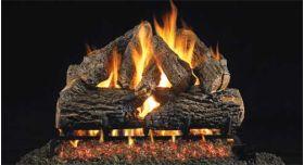 "Real Fyre 24"" G4 Charred Oak Log Sets - CHDG4-24"