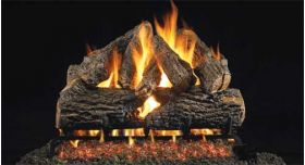 "Real Fyre 30"" G4 Charred Oak Log Sets - CHDG4-30"