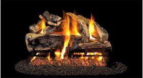 """Real Fyre 30"""" G4 Charred Rugged Split Oak Log Sets - CHRRSOG4-30"""