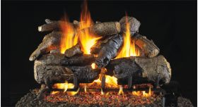 "Real Fyre 30"" G4 Charred American Oak Log Sets - CHAOG4-30"