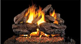 "Real Fyre 24"" G4 Charred Red Oak Log Sets - CHREDG4-24"