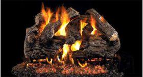 "Real Fyre 18"" GX4 Burnt Heritage Oak Log Sets - CHHGX4-18"