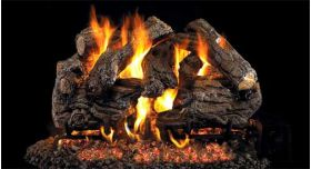 "Real Fyre 30"" GX4 Burnt Heritage Oak Log Sets - CHHGX4-30"