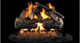 """Real Fyre 24"""" GX4 Pioneer Oak Log Sets - PNGX4-24"""
