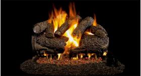 "Real Fyre 24"" G4 Charred Forest Oak Log Sets - CHFG4-24"