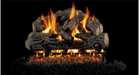 "Real Fyre 30"" G4 Charred Northern Log Sets - CHNG4-30"