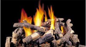 """Real Fyre 30"""" G4 Charred Oak Stack Log Sets - CHDSG4-30"""