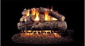 """Real Fyre 42"""" G4 Rustic Oak Designer Log Sets - HRDG4-42"""