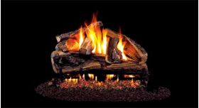 "Real Fyre 24"" G4 Rugged Split Oak Log Sets - RRSOG4-24"