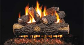 Real Fyre 24'' G4 Woodland Oak Log Sets - WOG4-24