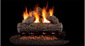 Real Fyre 24'' G4 Golden Oak Log Sets - RG4-24