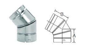 Selkirk 5'' RV 45/60° Adjustable Elbow - 105222 - 5RV-EL45/60