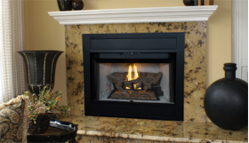 "Superior 36"" B-Vent Fireplace, Radiant - BRT4536"