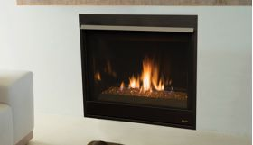 """Superior 35"""" Direct-Vent Fireplace, Top/Rear Combo - DRC3535"""