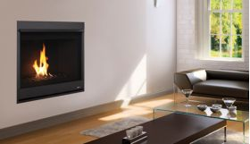 """Superior 33"""" Direct-Vent Fireplace, Top or Rear Vent, Louverless - DRC2033"""