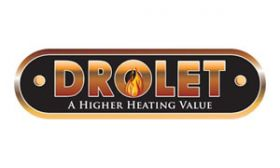 Part for Drolet - 3/8 BRASS PLATED COIL HANDLE - AC07862