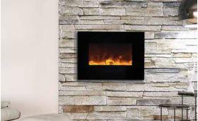 Amantii WM-FM-26-3623-BG Electric Fireplace - Wall Mount/Flush Mount