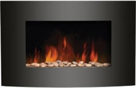 Amantii Convex Front Electric Fireplace - Wall Mount - WM-3522CF
