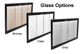 Thermo-Rite Glass Options - Bronze, Clear, or Grey
