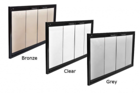Glass Colors - Chalet is available only in Bronze