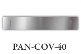 "Amantii Stainless Steel Cover for 40"" SLIM or DEEP Fireplace - PAN-COV-40"