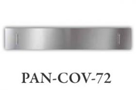 """Amantii Stainless Steel Cover for 72"""" SLIM or DEEP Fireplace - PAN-COV-72"""