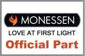 Monessen Black Texture Inside Fit Trim Kit - AVFL42TKI