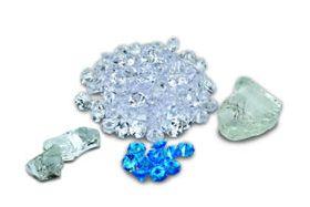Amantii Media - Box 1 Large - 2 Mini Clear Nuggets - Clear and Blue Diamond Media - Fi-105