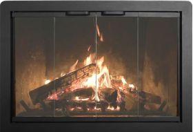 Thermo-Rite Beauregard Custom Glass Fireplace Door - Welded Steel - BEAURAGARD