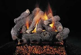 "Rasmussen 24"" Bonfire Log Set - Double Face - DF-BF2411"