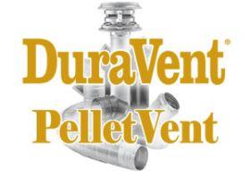 DuraVent 3 PelletVent 36 Straight Length Pipe - Black - 3PVL-36BR