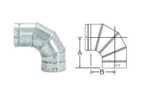 Selkirk 5'' RV 90° Adjustable Elbow - 105230 - 5RV-EL90