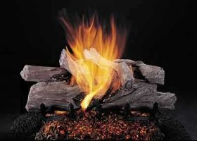"Rasmussen 20"" Evening CampFire Log Set - Single Face - EC20"