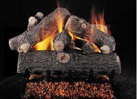 "Rasmussen 24"" Prestige Oak Log Set - Double Face - DF-PR248"