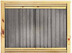 PW Glassfyre II Fireplace Door - Premium Finishes - 6100P