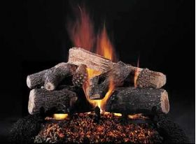 "Rasmussen 24"" Evening Lone Star Log Set - Double Face - DF-ELS24"