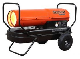 HeatFast Kerosene Forced Air 215K BTU Heater - HF215K
