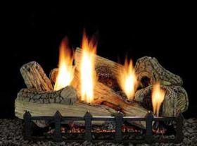 Empire Canyon Ceramic Fiber Log Set - 7-piece - 24in - LX-24-CF