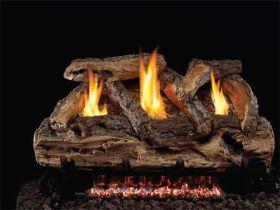Real Fyre 24'' Split Oak Vent Free Log Set - SG9-24