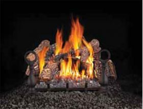 "Napoleon GL18 18"" Fiberglow Vented Gas Log Set (55,000 BTU's) - GL18N"